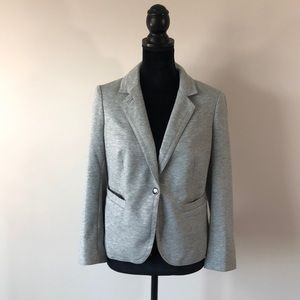 Outback Red gray one button blazer (medium)